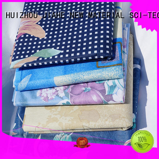 bedsets stitch various JIAHE Brand printed non woven fabric supplier