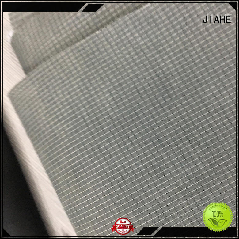 coat filler stitchbond recycled polyester fabric JIAHE manufacture