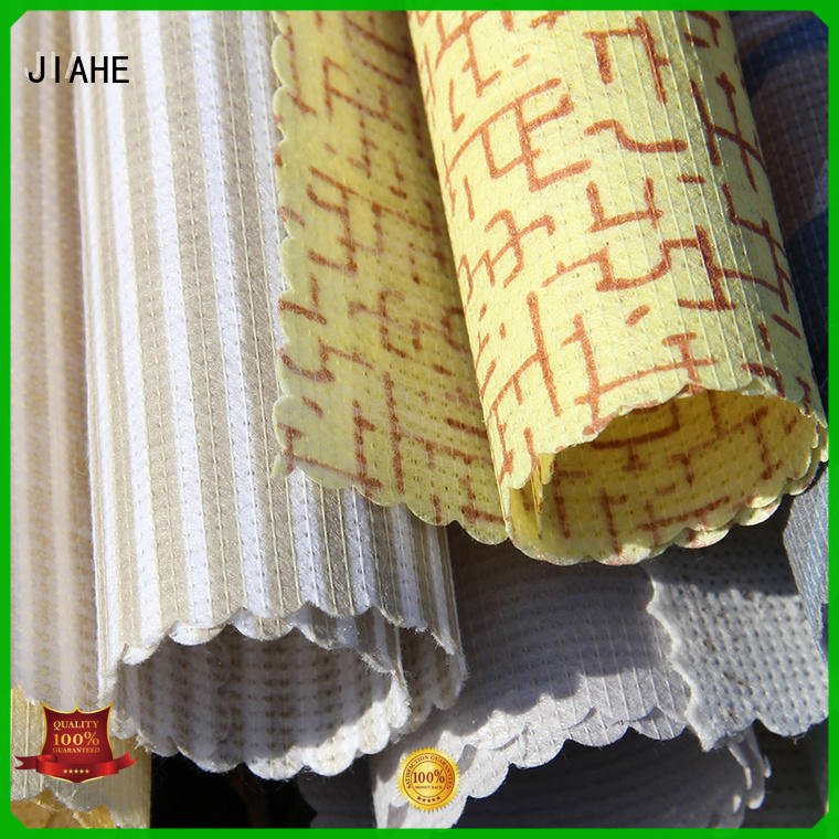JIAHE non woven polypropylene manufacturer for bed sets