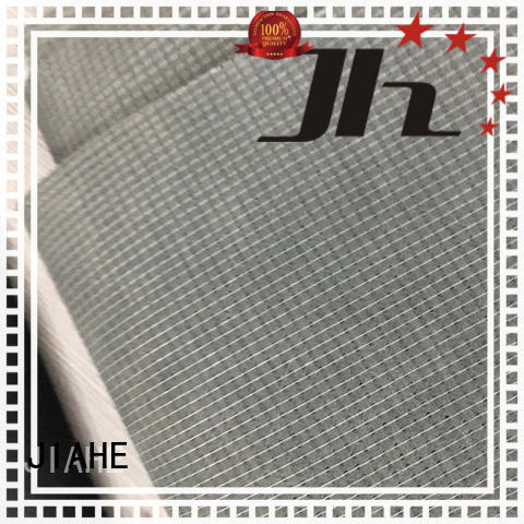 recycled polyester fabric coat bond non woven fabric gauge JIAHE Brand