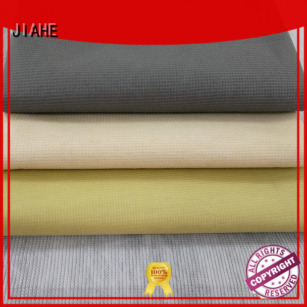 JIAHE Brand producer odm recycled polyester fabric stitch supplier
