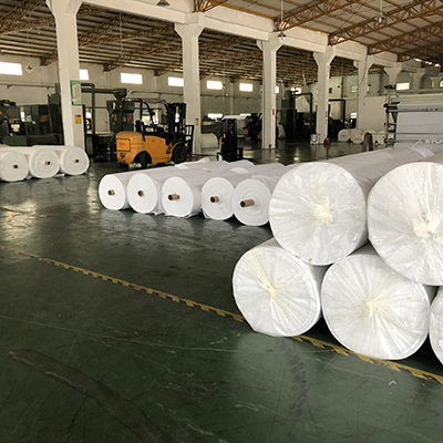 stitch bonded nonwoven fabric 100gsm print stitchbond with 2.1m for ZA mattress industry-20