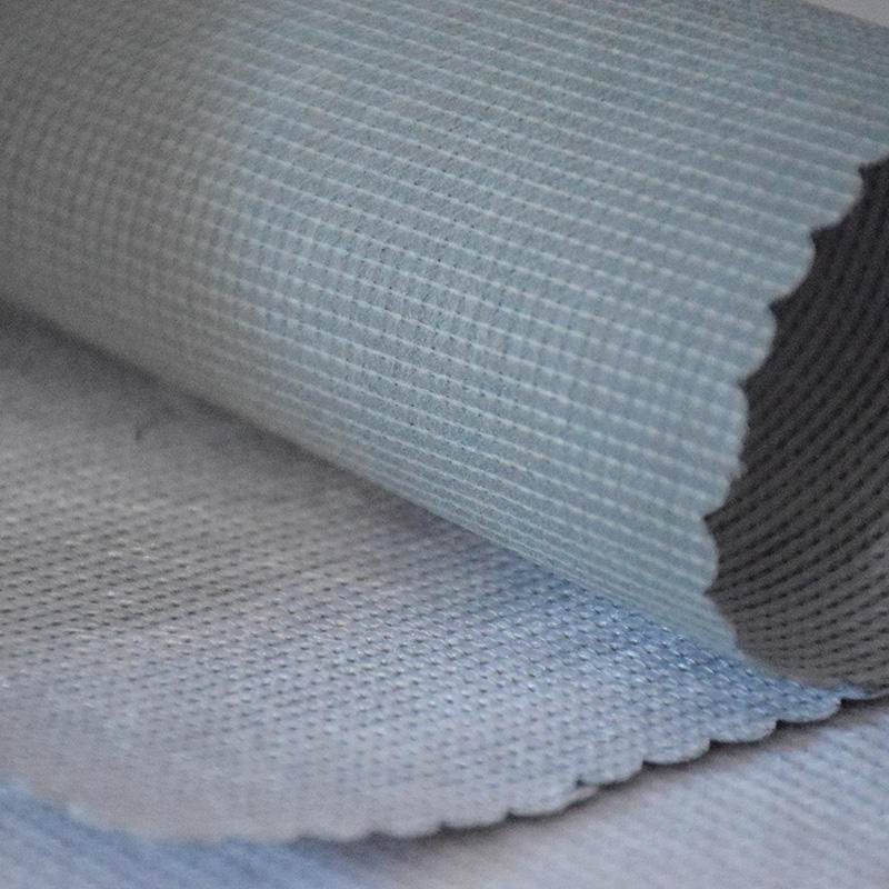 fabric used for mattress covers 90Gsm 2.1m beige coated stitch bond mattress bottom fabrics