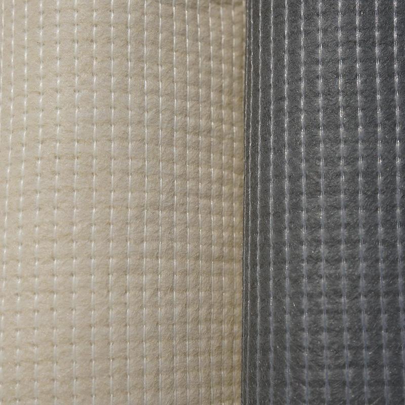 coat stitch bond textile Mattress Cream anti slip fabric material
