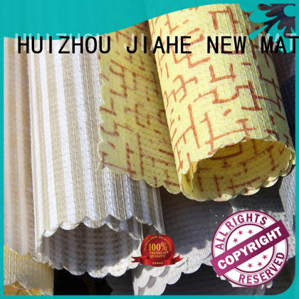 JIAHE print stitch bonded fabric line for bed sets