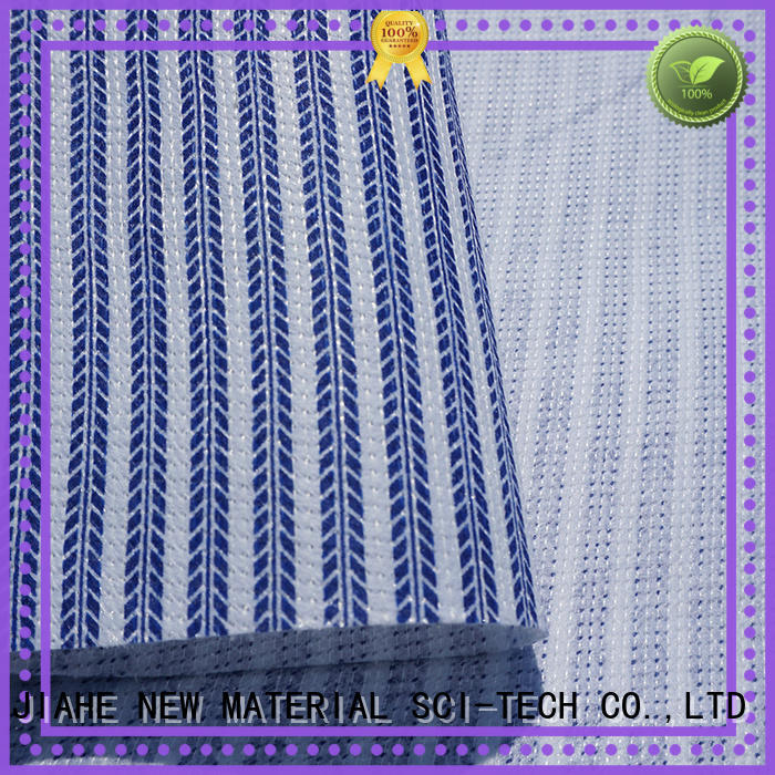 JIAHE printed fireproof fabric supplier for furniture