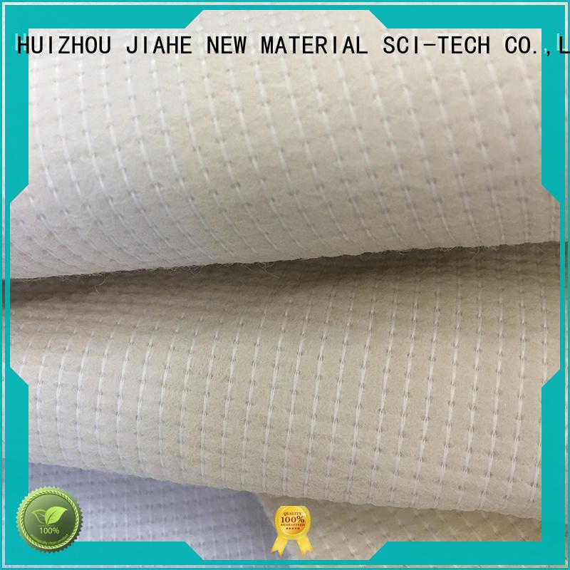 JIAHE coated stitch bonded fabric customized for sofa
