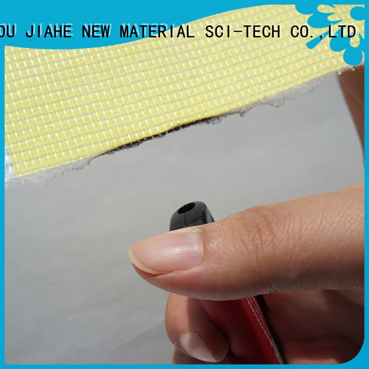 JIAHE ticking fire retardant fabric manufacturer for covers