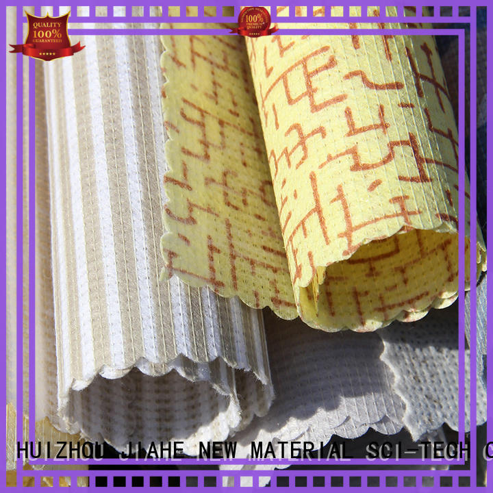 JIAHE special printed non woven fabric line for bedding