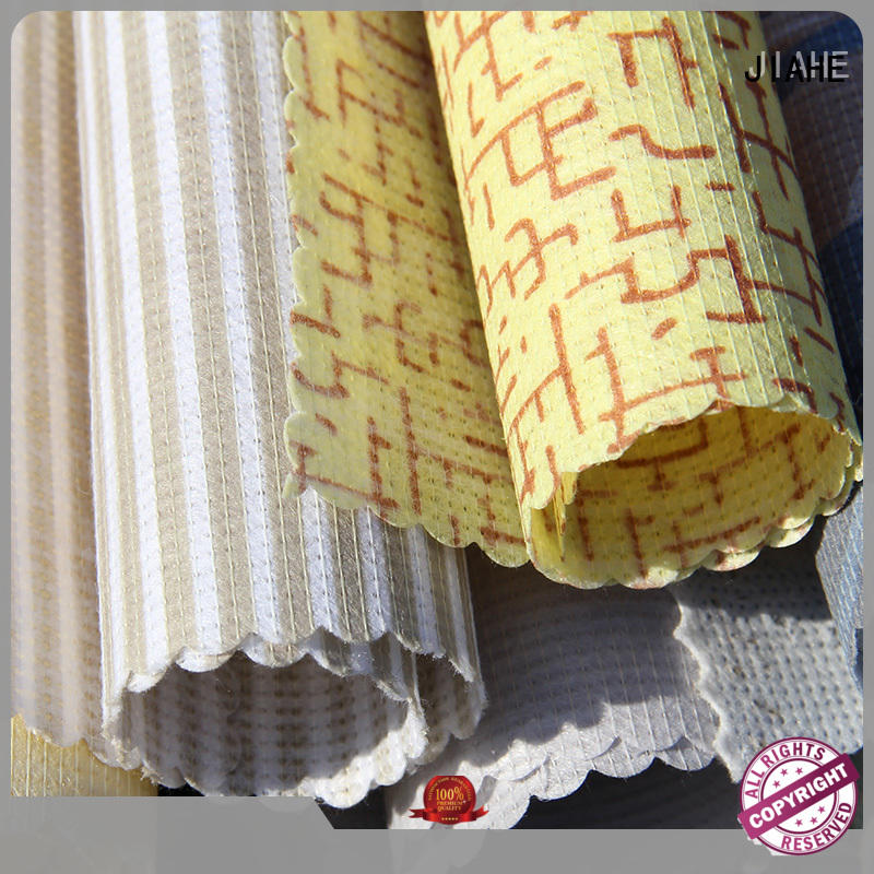 JIAHE non woven material manufacturer for bedding