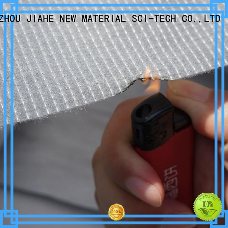 ticking producer recycled polyester fabric JIAHE Brand