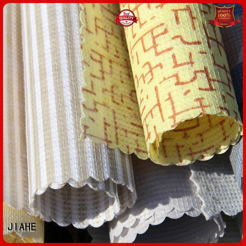 logo mattress JIAHE Brand printed non woven fabric