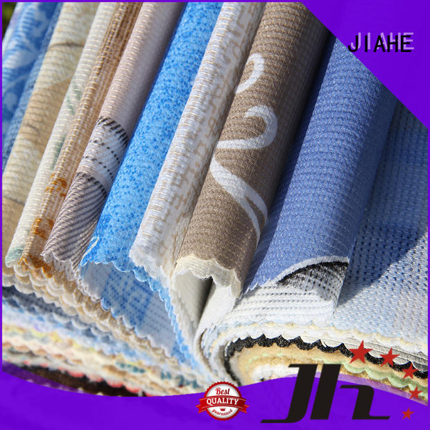 JIAHE various non woven fabric textile for furniture