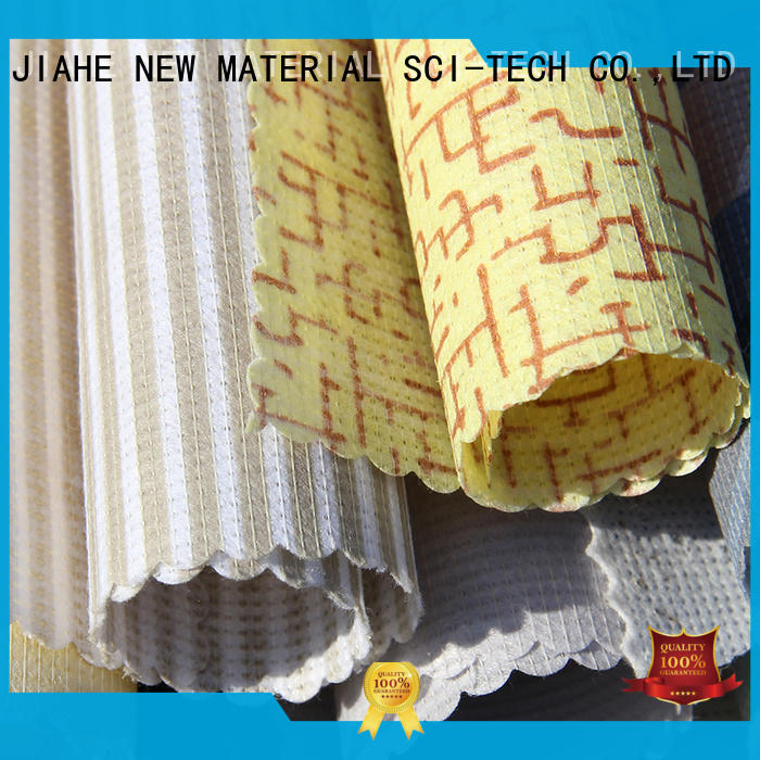JIAHE ticking non woven material blue for bed