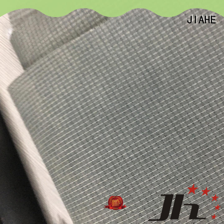 JIAHE anti-slip mattress cover material manufacturer for covers
