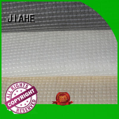 stitchbonded covers ticking recycled polyester fabric JIAHE manufacture