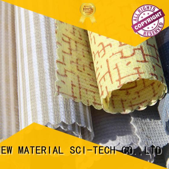 color Custom textile stitchbonding printed non woven fabric JIAHE mattress