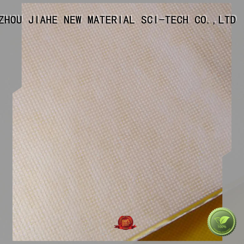 JIAHE BOPP rpet fabric customized for shoe bags