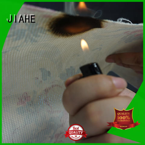 JIAHE print non woven material manufacturer for bedding