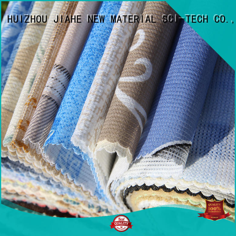 covering bed eco polyester materials blue JIAHE Brand
