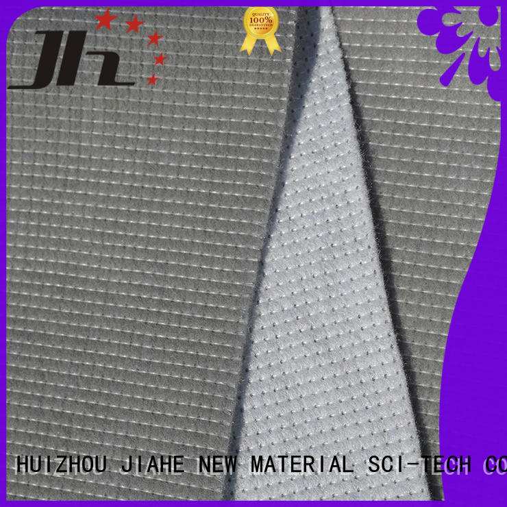 anti ticking standard bottom JIAHE Brand non woven fabric supplier