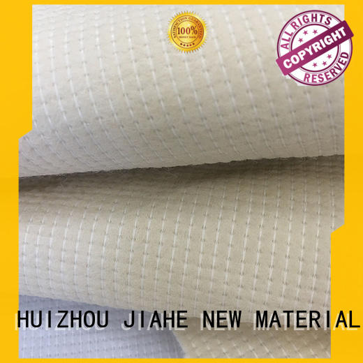 recycled polyester fabric gauge non woven fabric JIAHE Brand