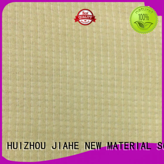 beige fabric waterproof mattress cover stitchbonded for filler JIAHE