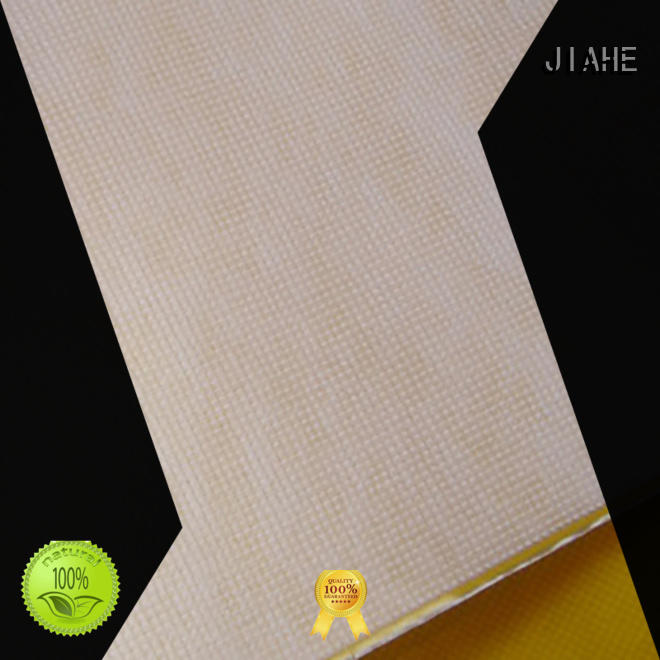 JIAHE 80gsm rpet fabric customized for box