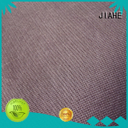 JIAHE non woven polyester fabric manufacturer for bedding