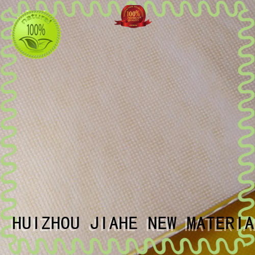 JIAHE dyed rpet fabric supplier for shopping bags