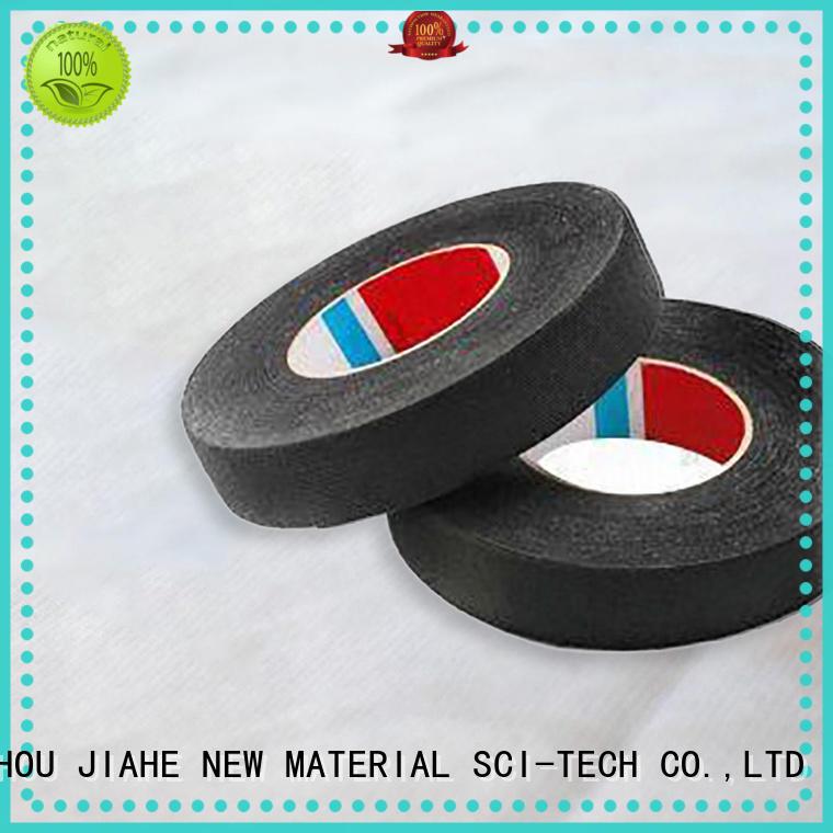 black non woven tape supplier for carpet