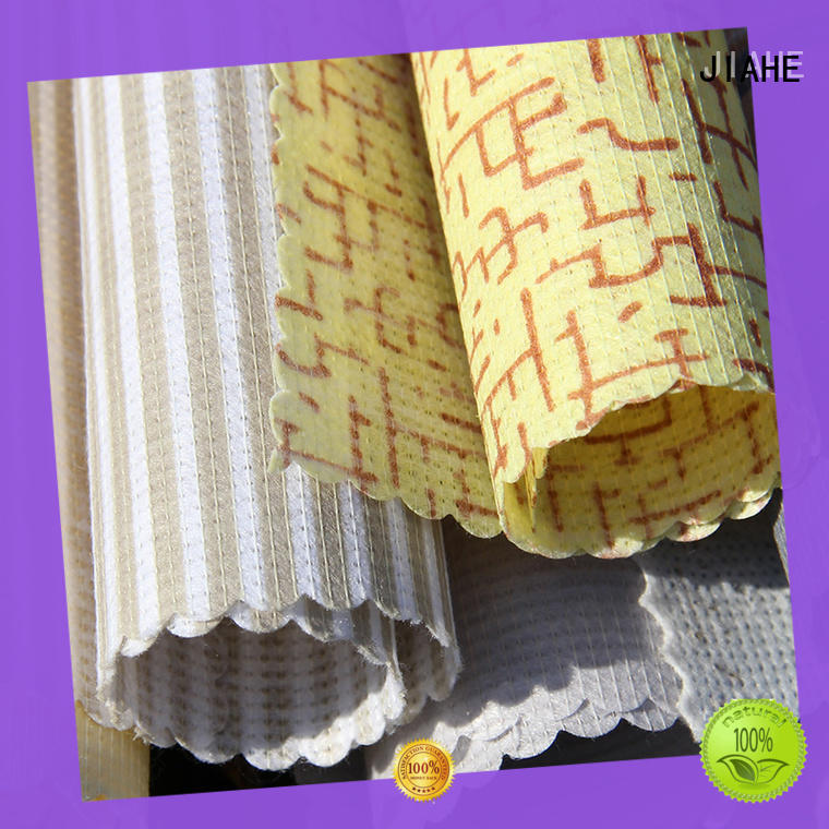 JIAHE single color non woven printing supplier for bed