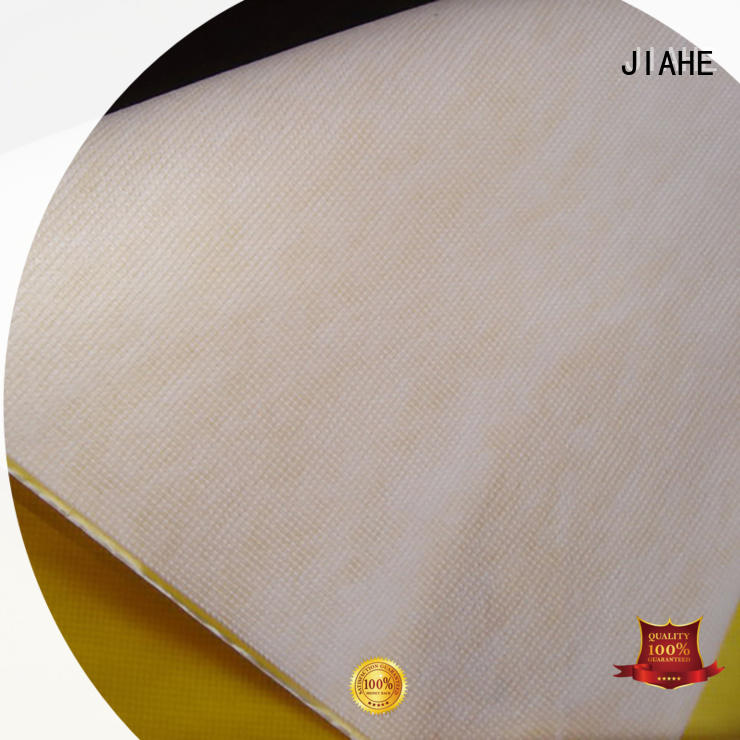 JIAHE dyed non woven polypropylene 80gsm for shopping bags