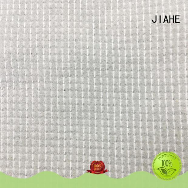 JIAHE grey stitch bonded fabric supplier for mattress