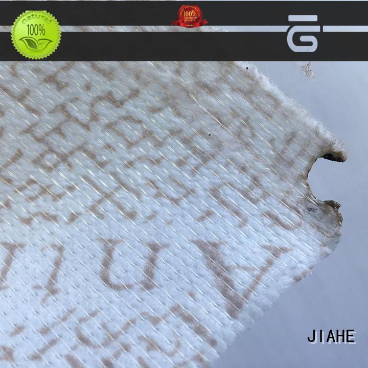 blue non woven fabric 21m for mattress JIAHE