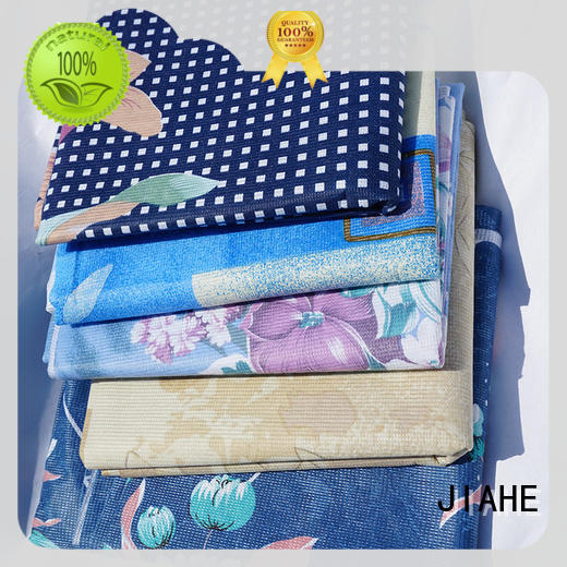 JIAHE single color polyester fabric roll supplier for furniture