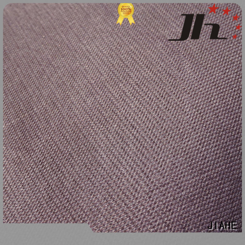 JIAHE Brand cover woven fabric eco polyester