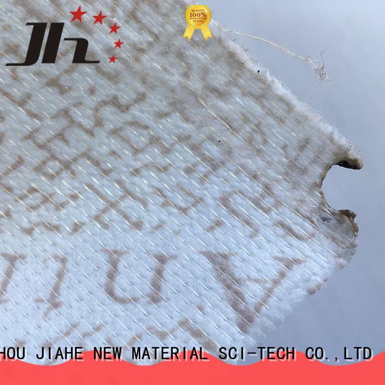 print non woven polyester fabric line for covers JIAHE