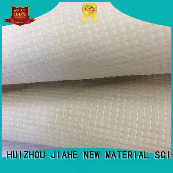 Quality JIAHE Brand coating grey non woven fabric
