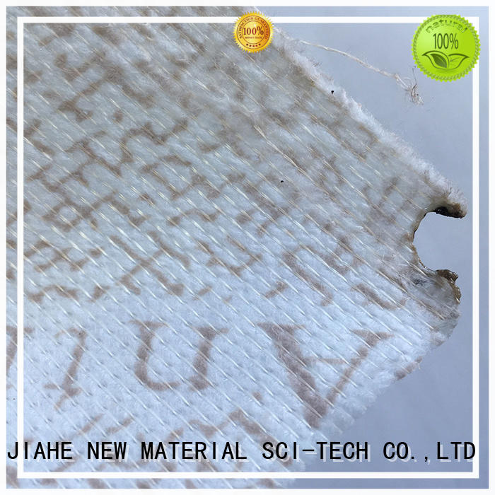 print special beautiful upholstery JIAHE Brand printed non woven fabric supplier