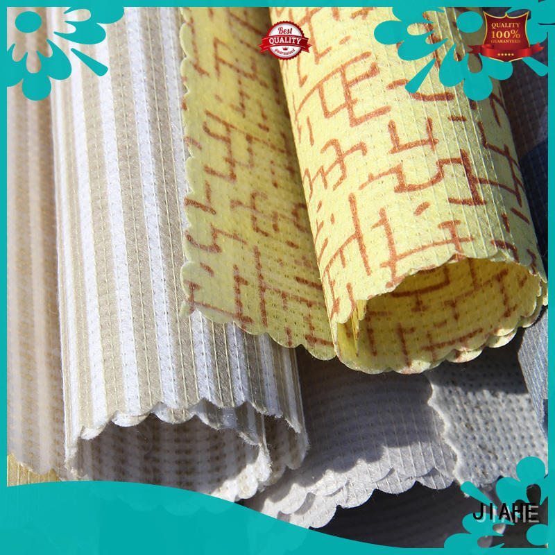JIAHE print non woven blue for mattress