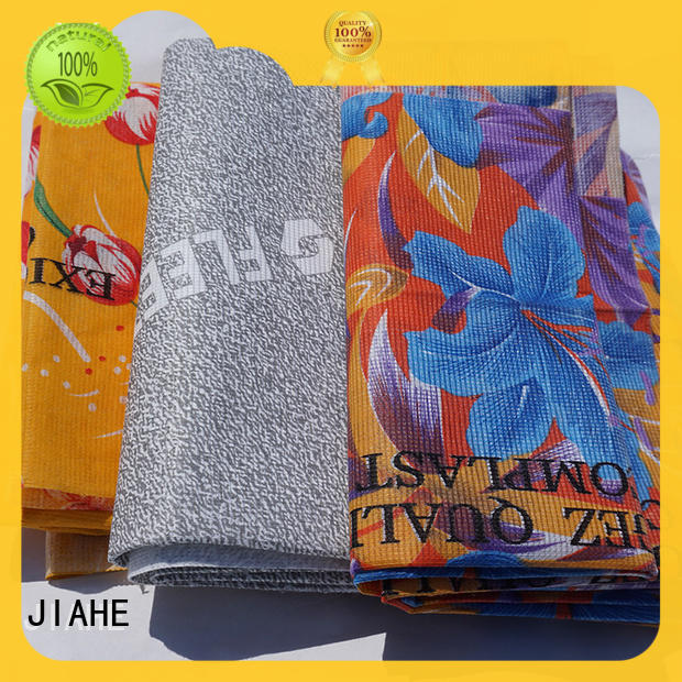 JIAHE stitch bonded fabric supplier for bedding