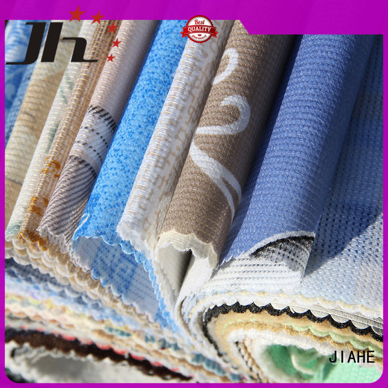 JIAHE 100gsm non woven polypropylene textile for furniture
