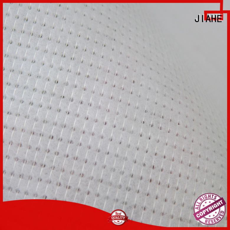 underlayment white polyester roofing fabric process JIAHE company