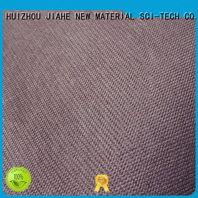 non woven polyester fabric flower for bedding JIAHE
