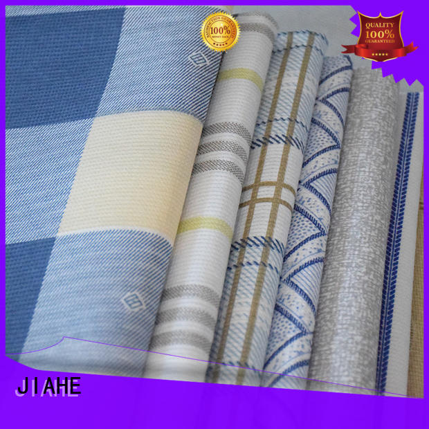 JIAHE blue non woven polyester fabric manufacturer for bedding