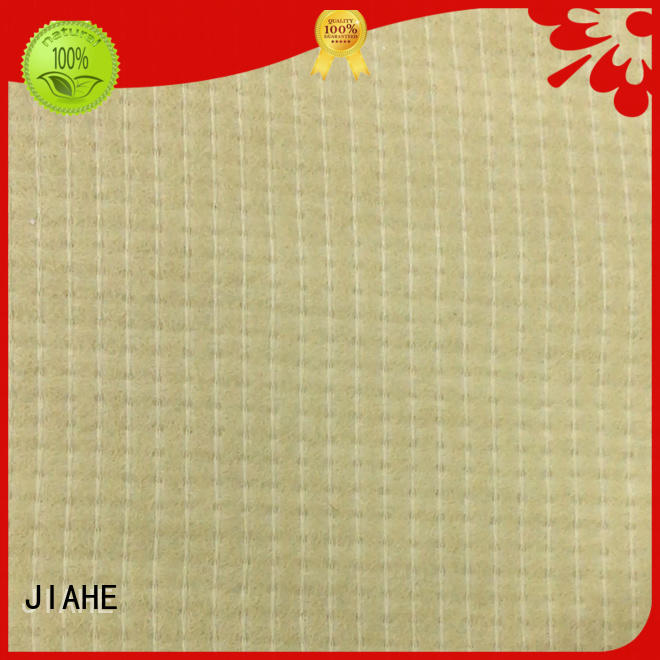 anti textile foam JIAHE Brand recycled polyester fabric factory