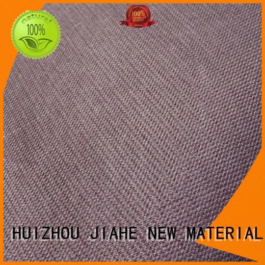 Hot logo printed non woven fabric furniture stitchbond JIAHE Brand
