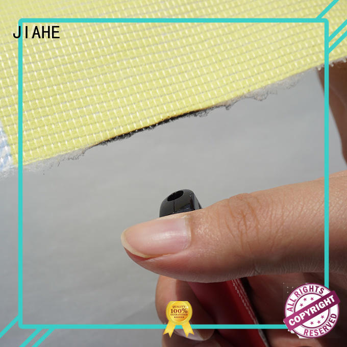 JIAHE printed fire retardant fabric customized for covers