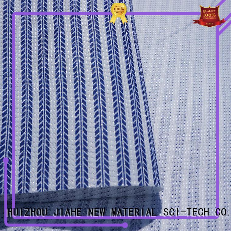 JIAHE ticking fireproof fabric materials factory for mattress